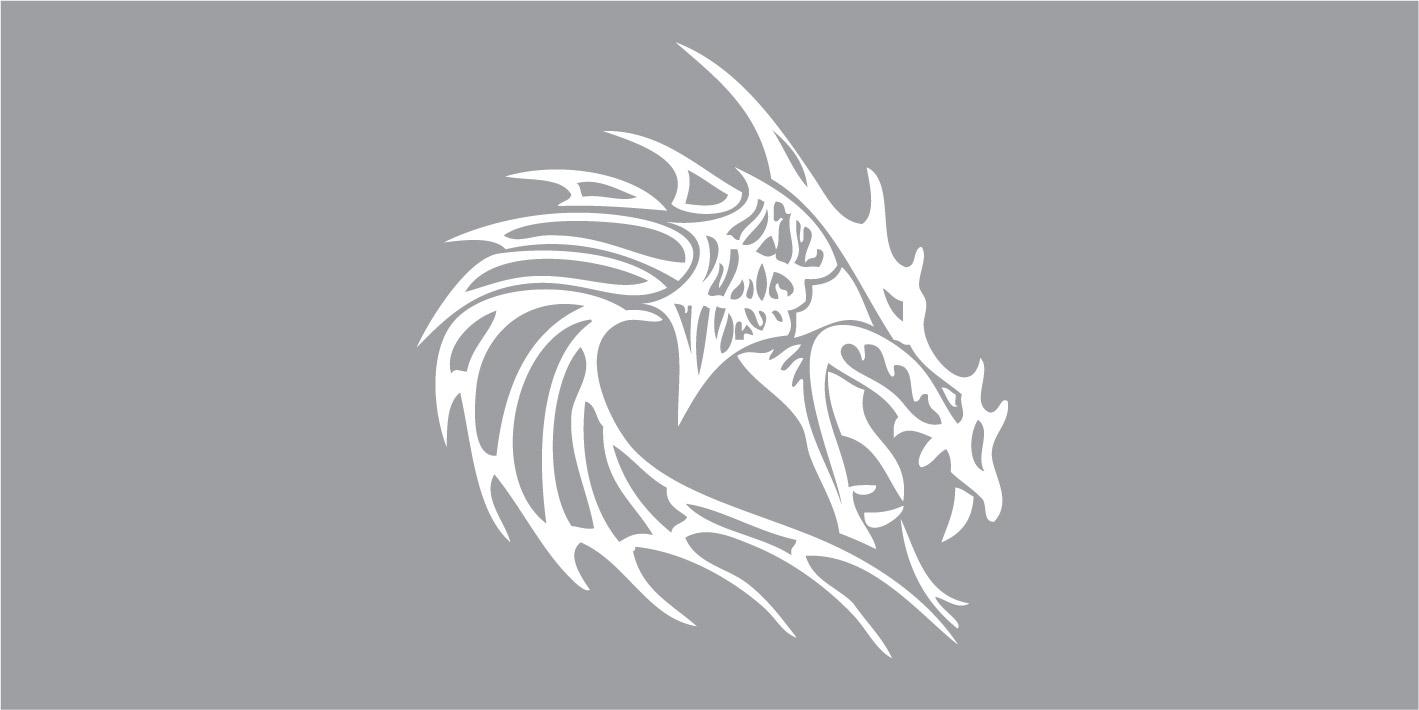 FO66003 Draak tribal
