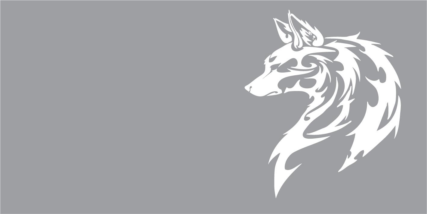 FO66006 Wolf, dieren, tribal