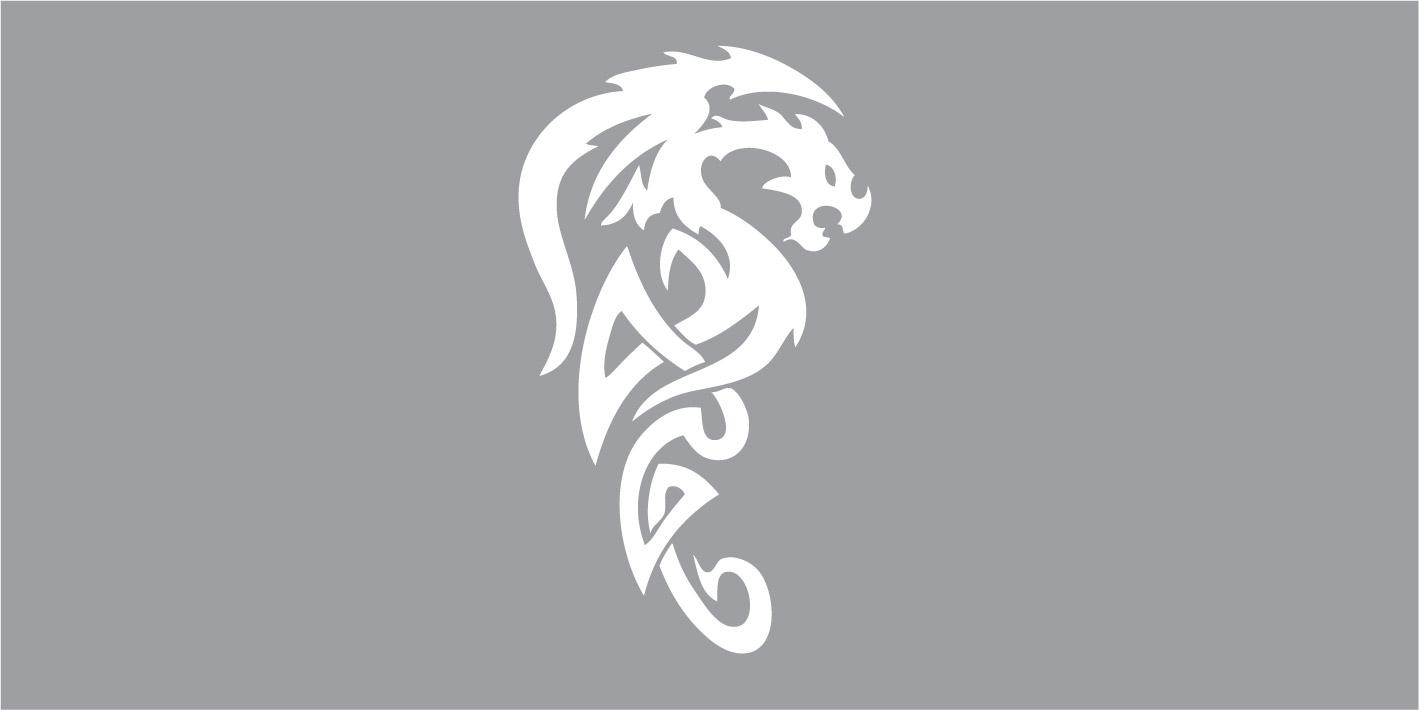 FO66008 draak, tribal