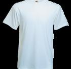 T-shirt wit vhals